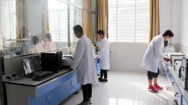 药品检测精密仪器实训