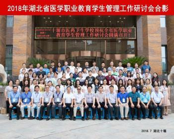 我校教师在2018年湖北省医学职业教育学